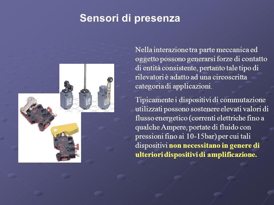 Sensori di presenza
