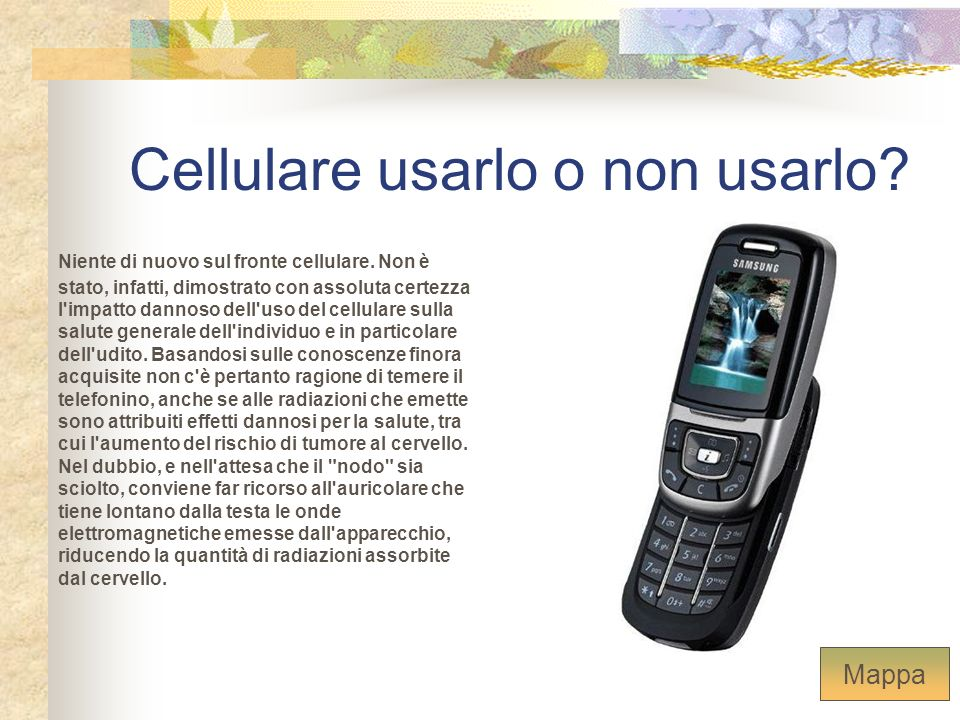 Cellulare usarlo o non usarlo