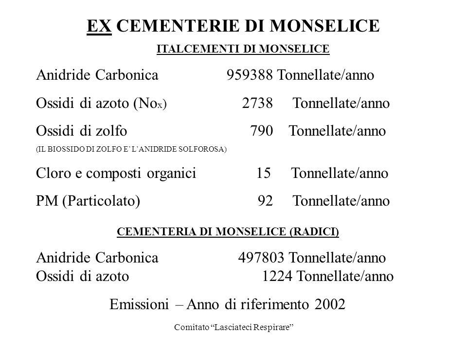 ITALCEMENTI DI MONSELICE CEMENTERIA DI MONSELICE (RADICI)