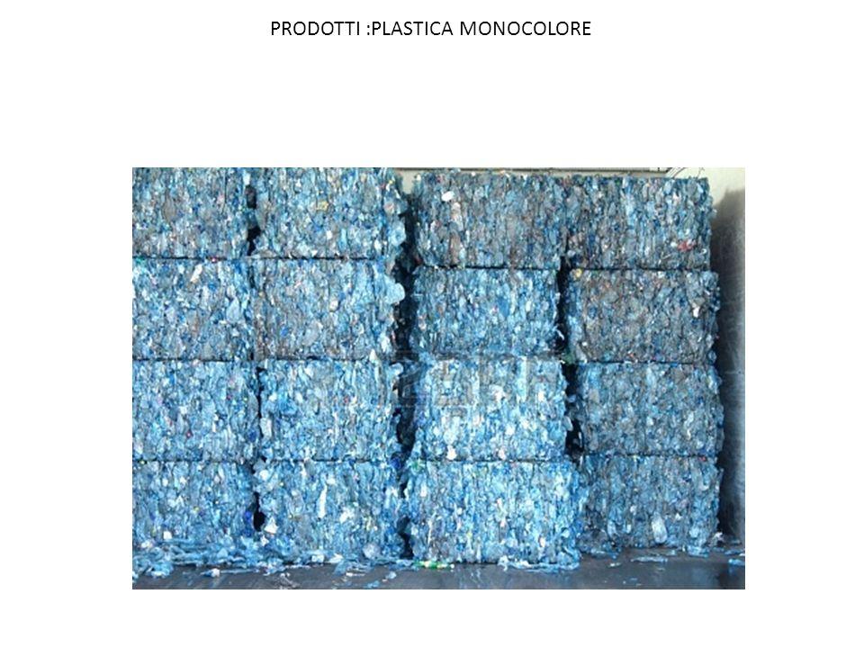 PRODOTTI :PLASTICA MONOCOLORE