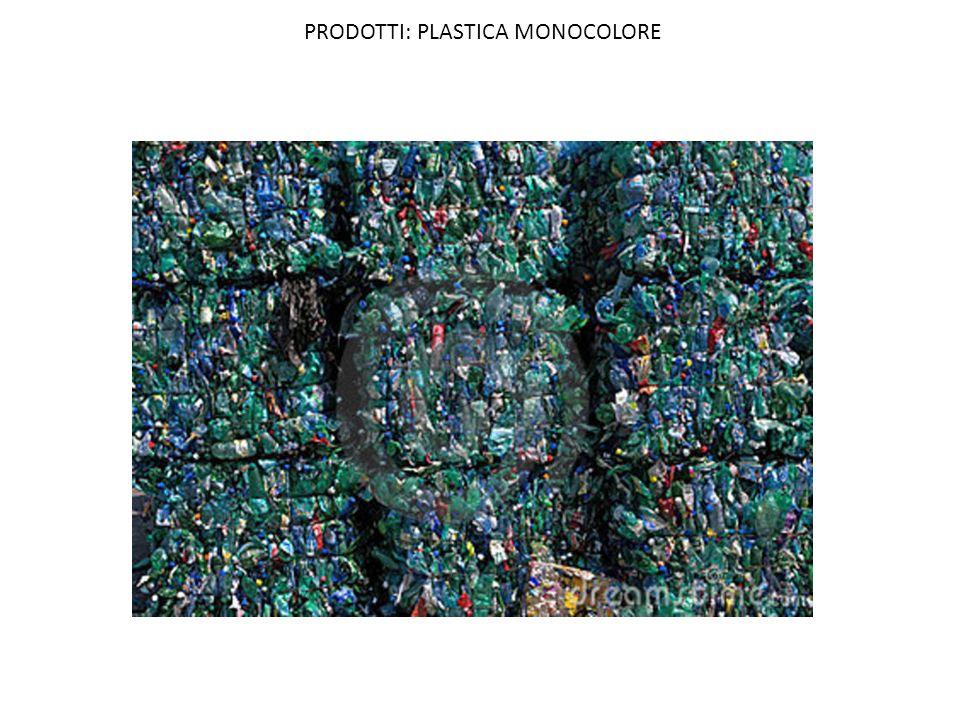 PRODOTTI: PLASTICA MONOCOLORE