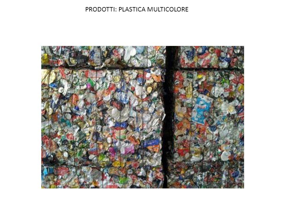 PRODOTTI: PLASTICA MULTICOLORE
