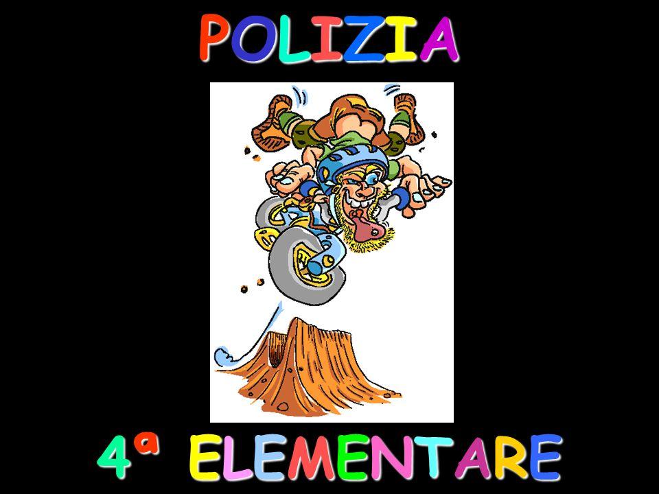 POLIZIA 4ª ELEMENTARE