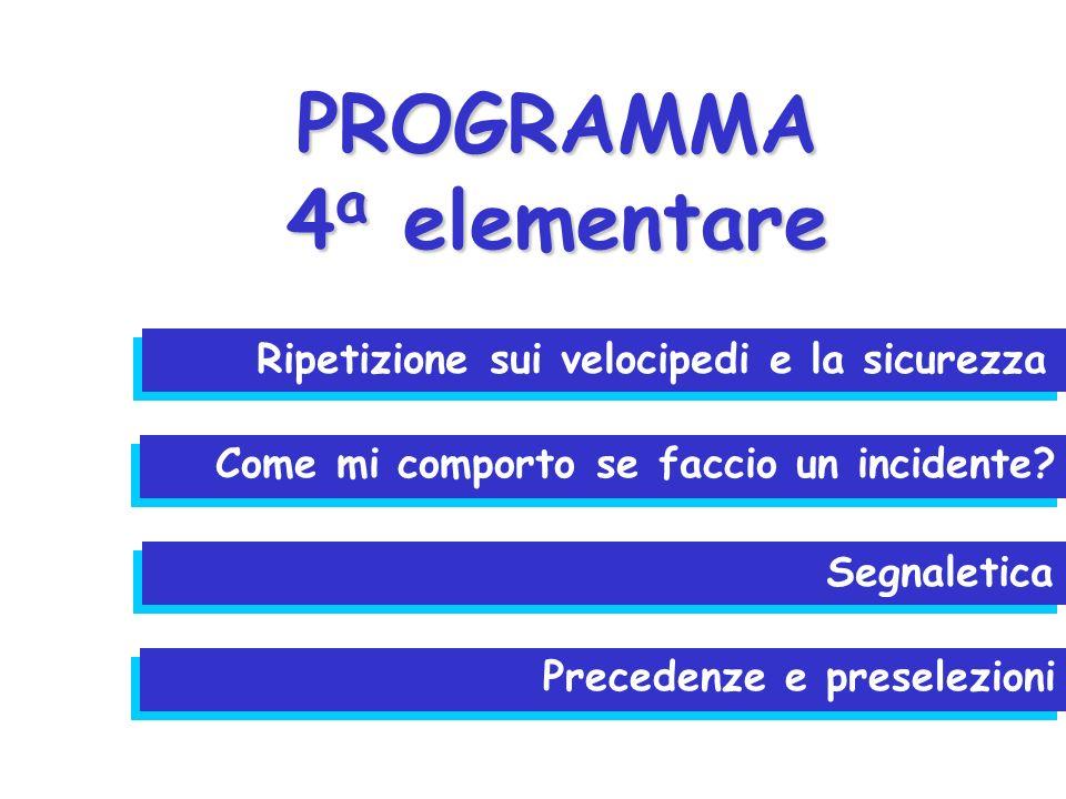 PROGRAMMA 4a elementare