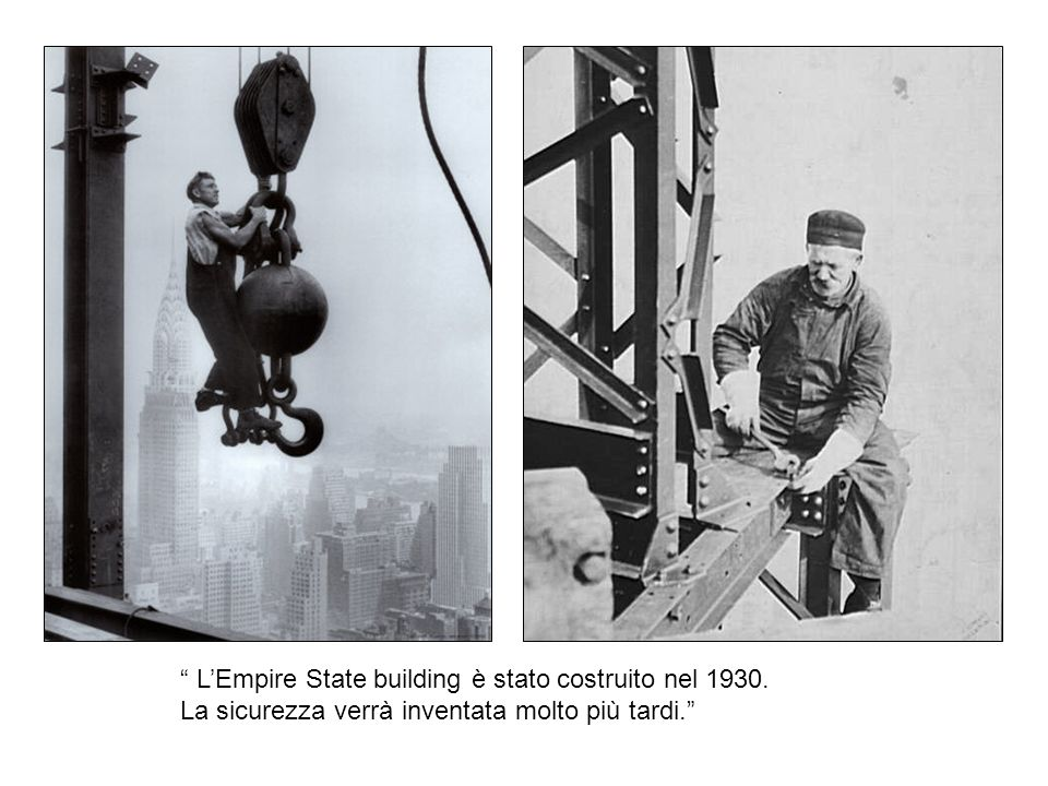 L'Empire State building è stato costruito nel 1930