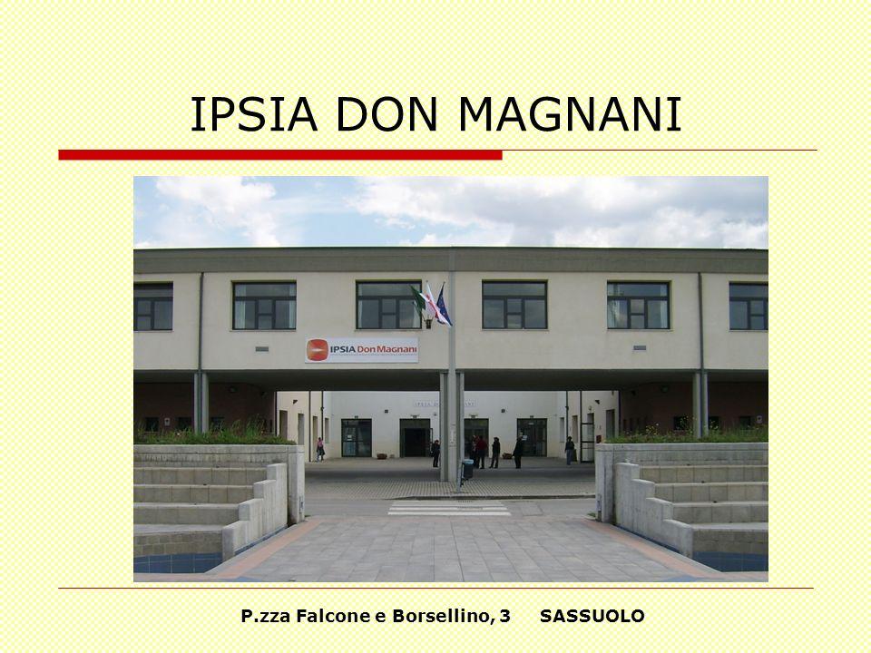P.zza Falcone e Borsellino, 3 SASSUOLO