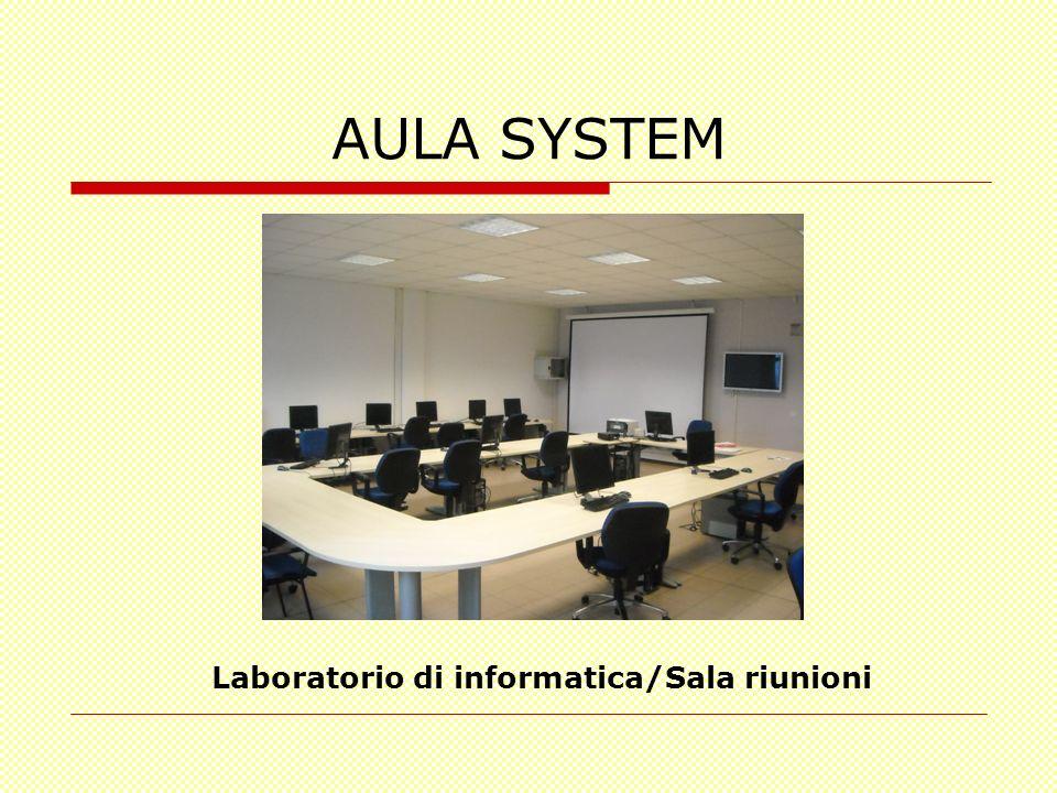 Laboratorio di informatica/Sala riunioni