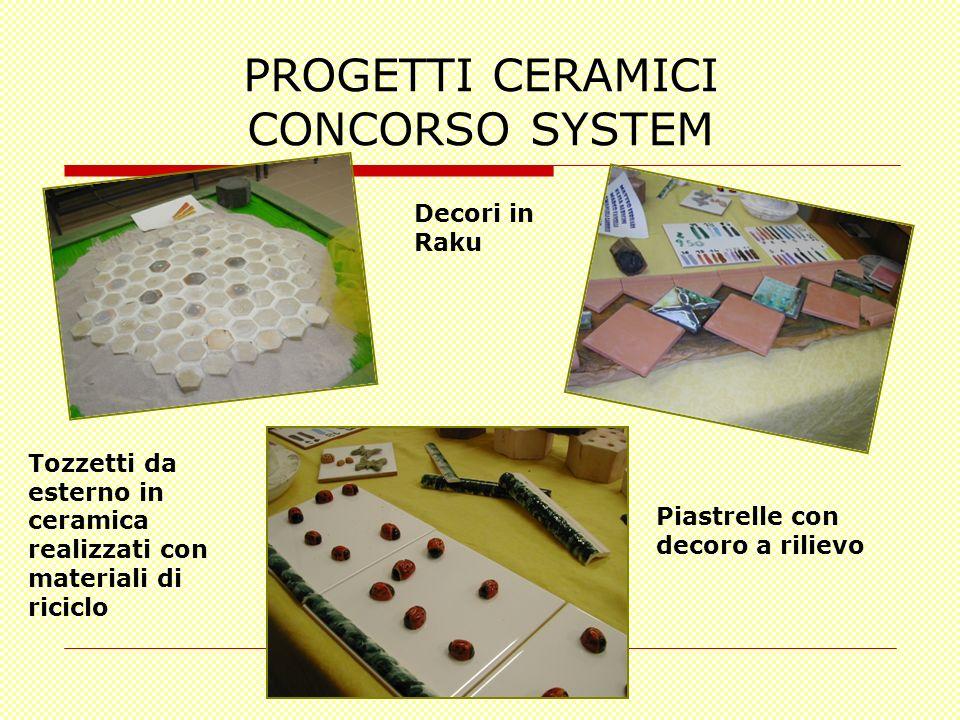 PROGETTI CERAMICI CONCORSO SYSTEM