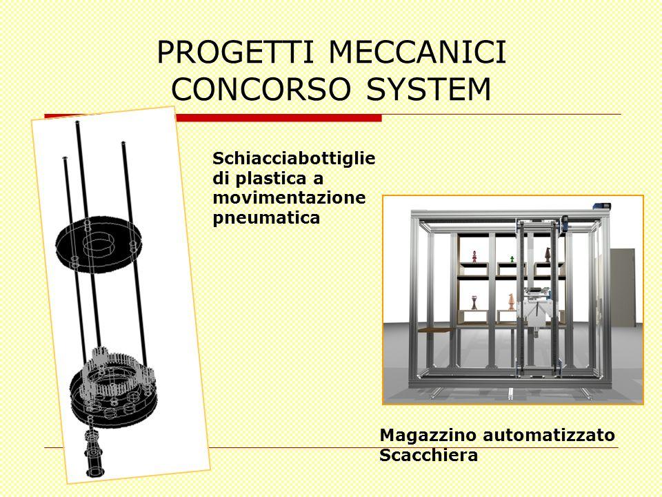 PROGETTI MECCANICI CONCORSO SYSTEM