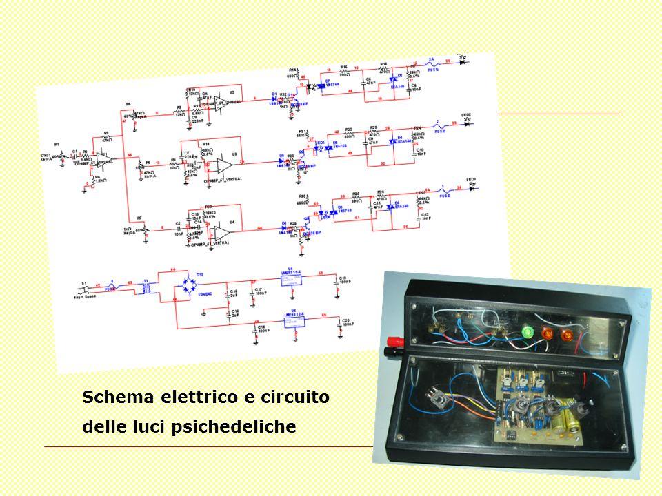 Schema elettrico e circuito