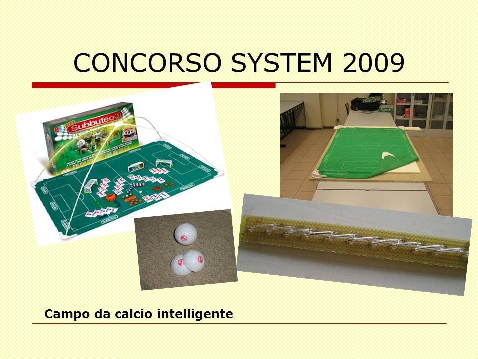 CONCORSO SYSTEM 2009 Campo da calcio intelligente