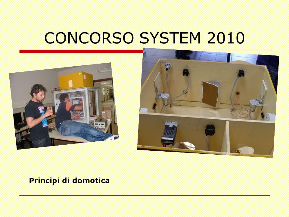 CONCORSO SYSTEM 2010 Principi di domotica