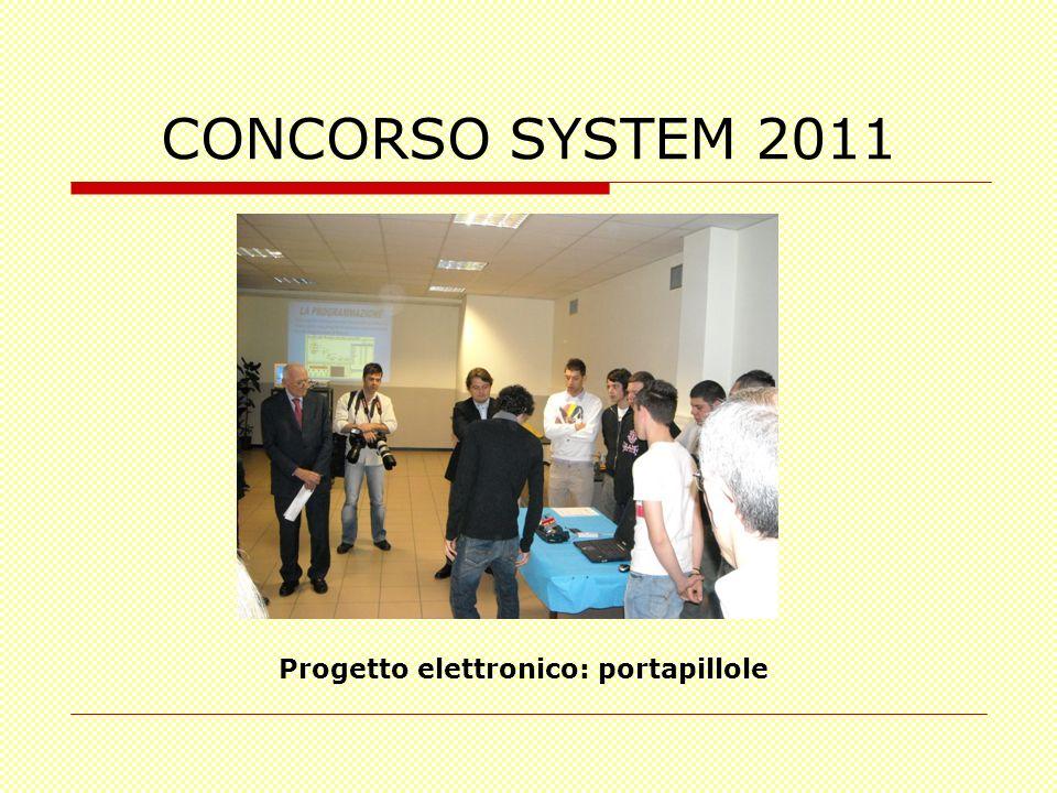 Progetto elettronico: portapillole