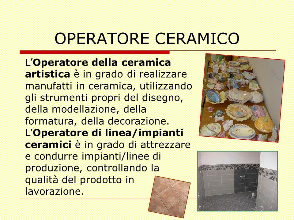 OPERATORE CERAMICO