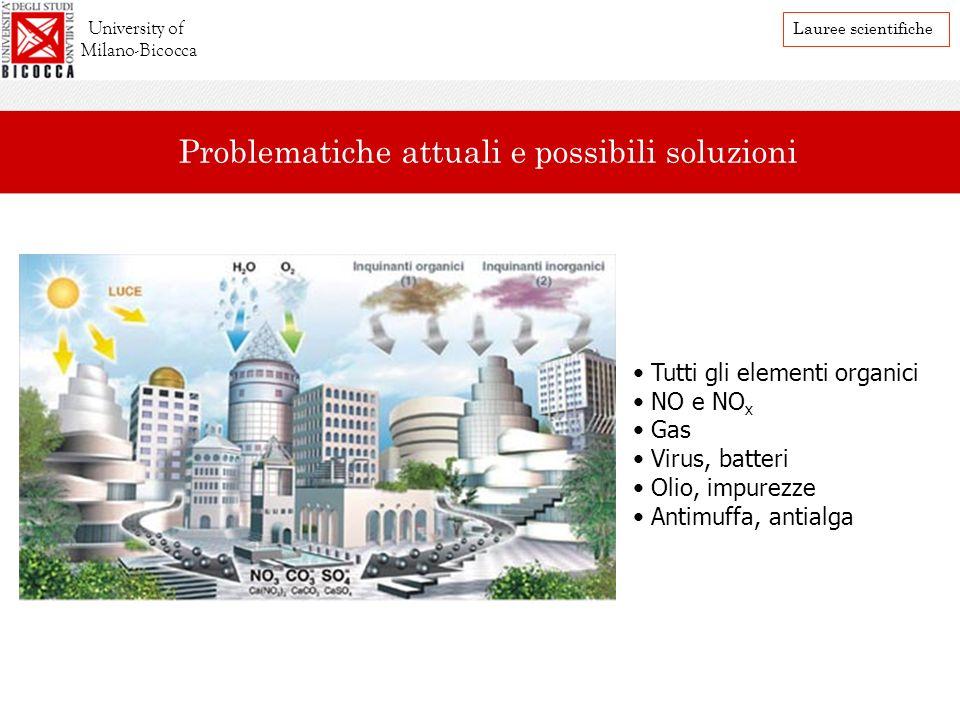 Problematiche attuali e possibili soluzioni