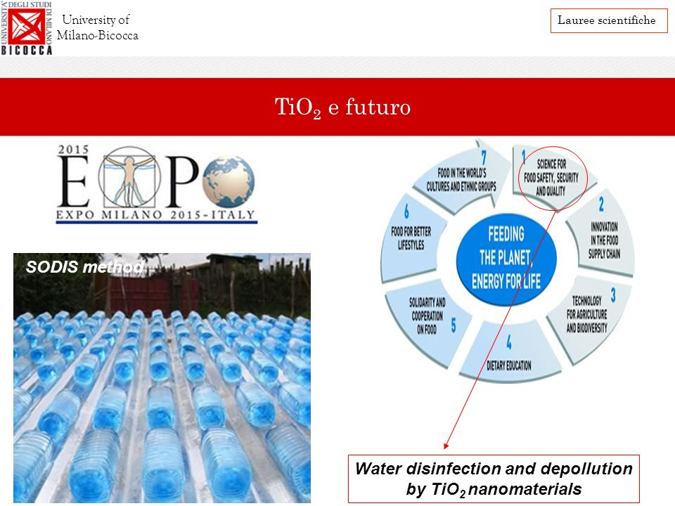 Water disinfection and depollution