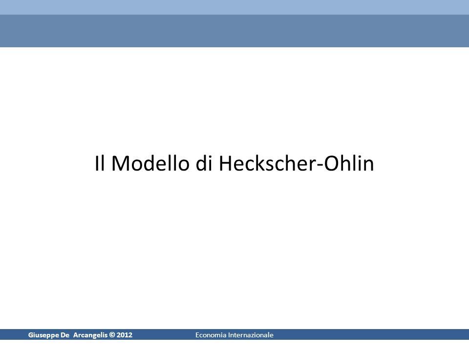 Il Modello di Heckscher-Ohlin