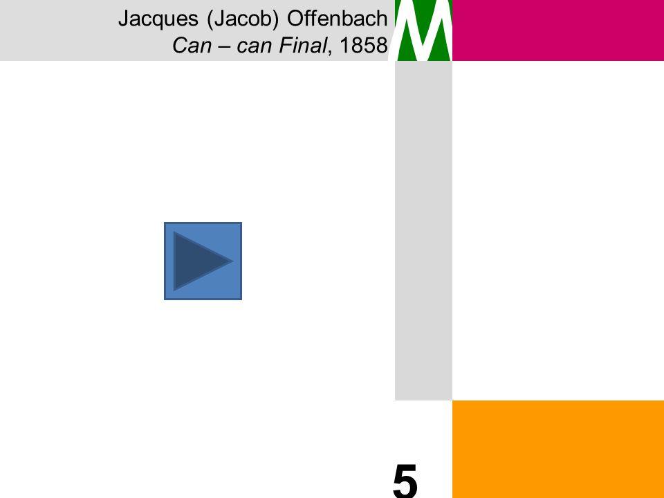 Jacques (Jacob) Offenbach