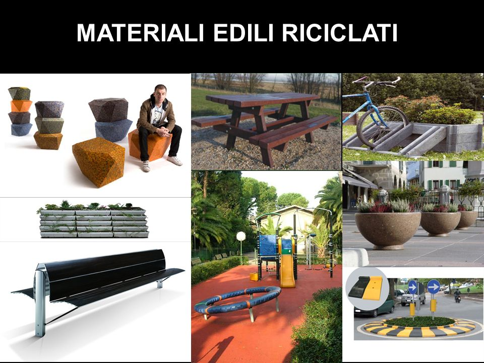 MATERIALI EDILI RICICLATI