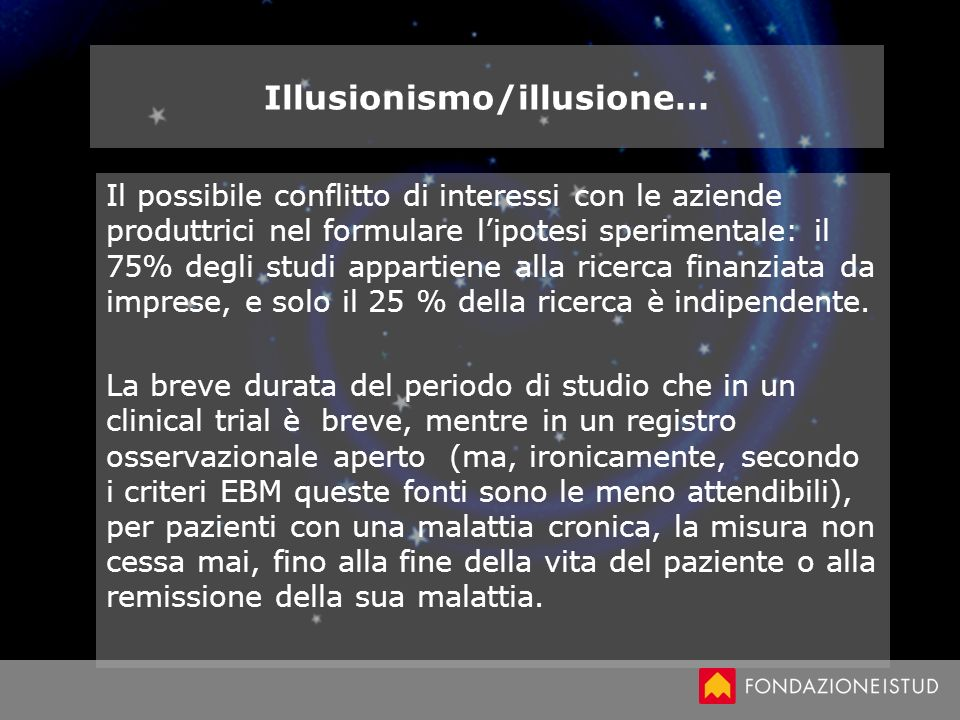 Illusionismo/illusione…
