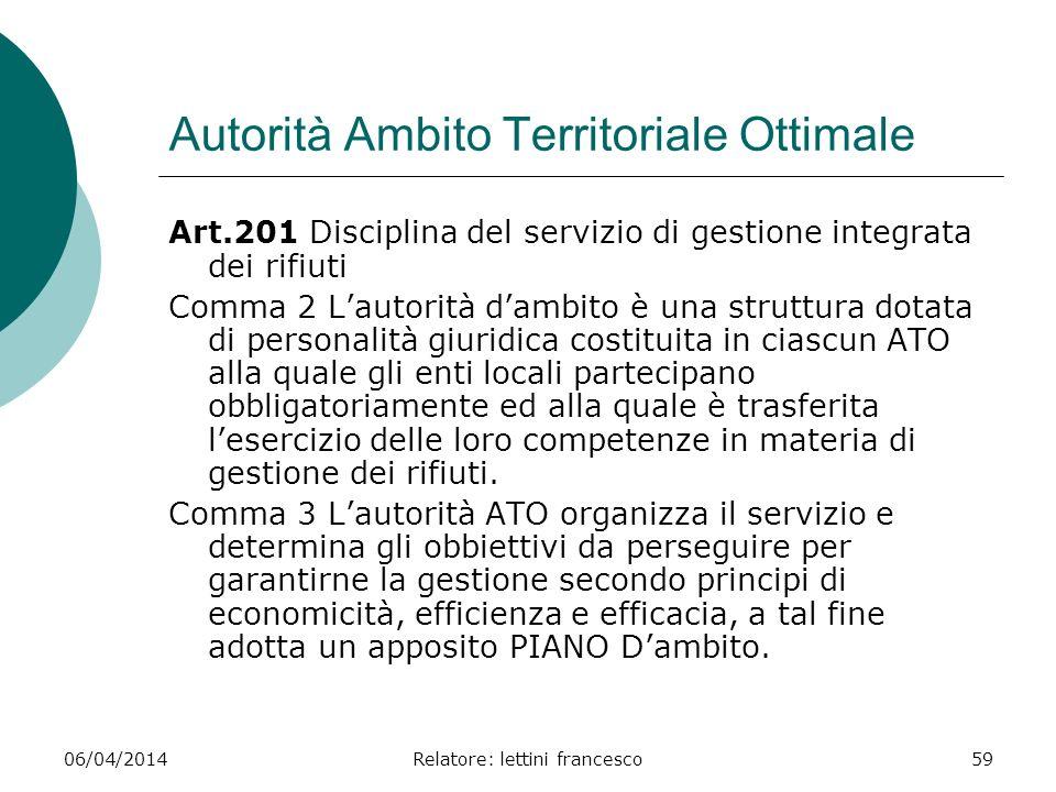 Autorità Ambito Territoriale Ottimale