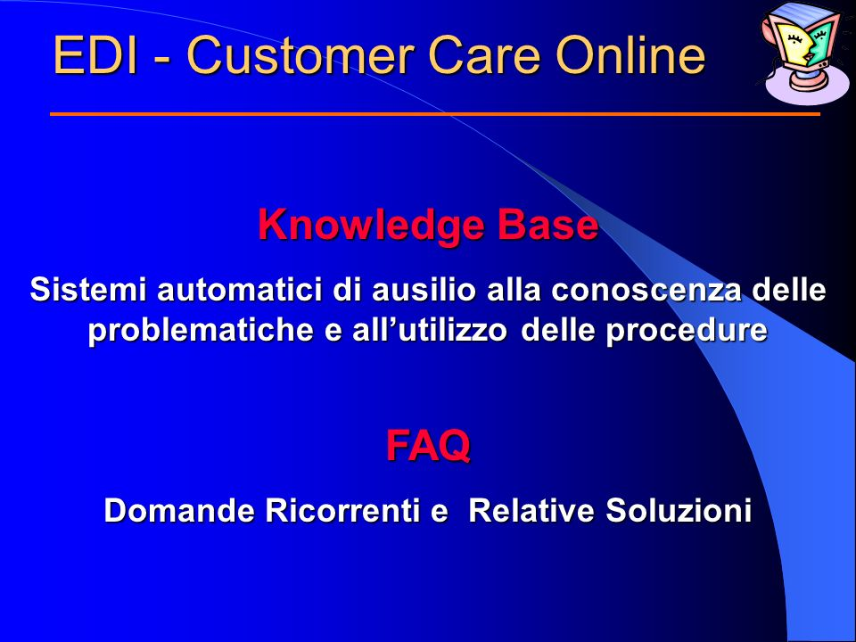 EDI - Customer Care Online