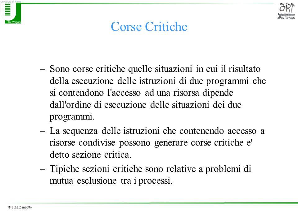 Corse Critiche