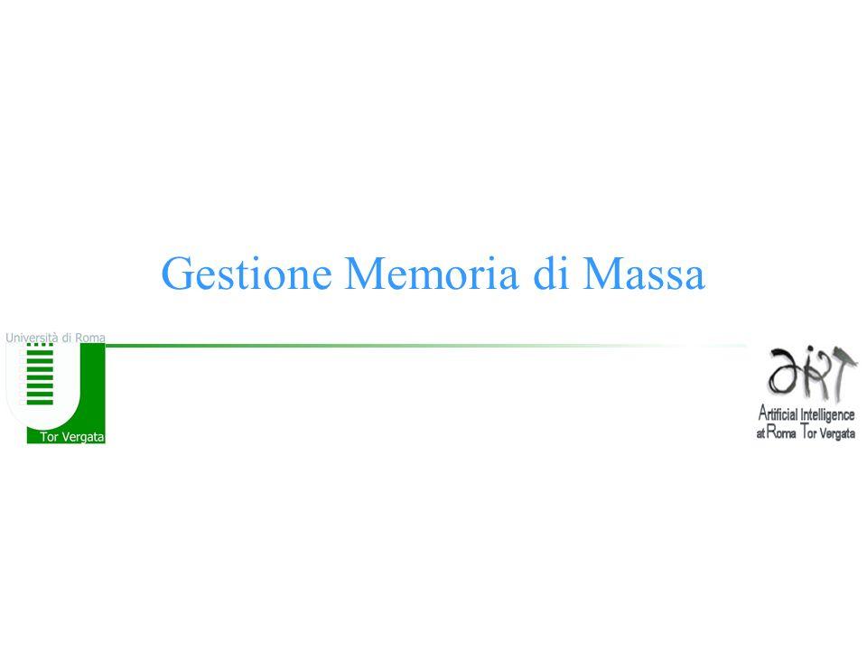 Gestione Memoria di Massa