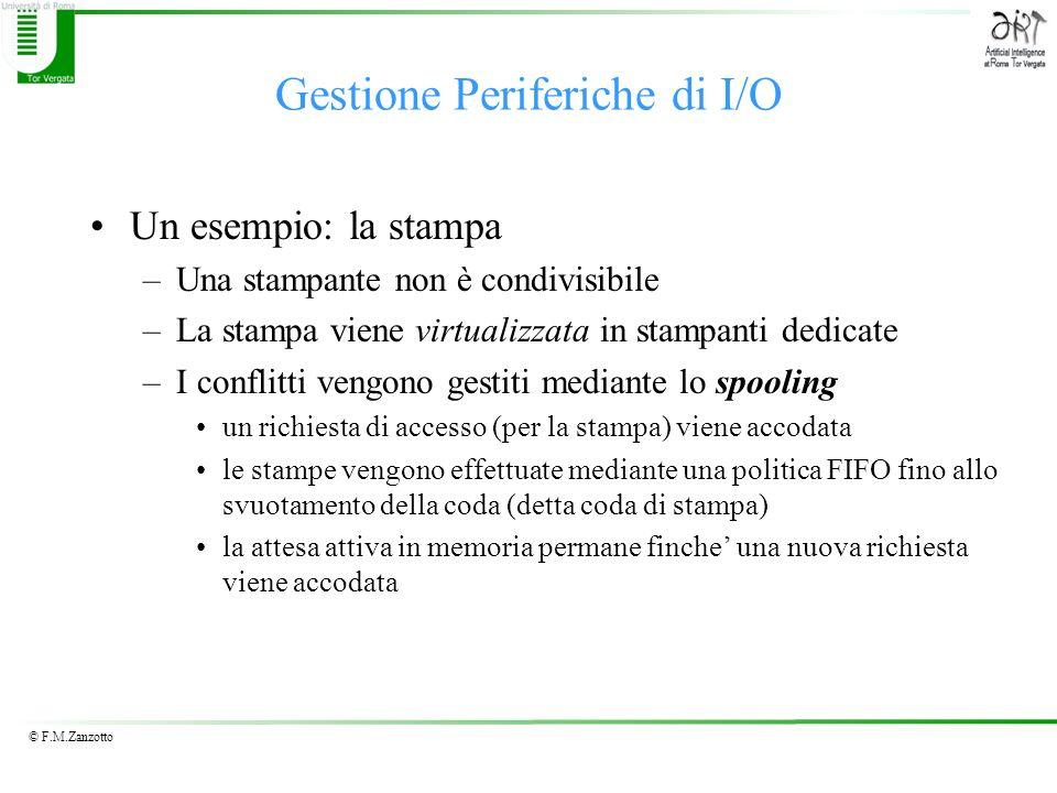Gestione Periferiche di I/O