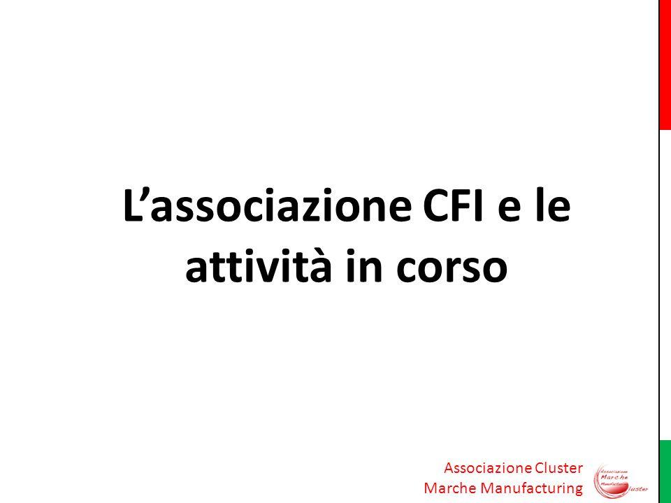 L'associazione CFI e le attività in corso