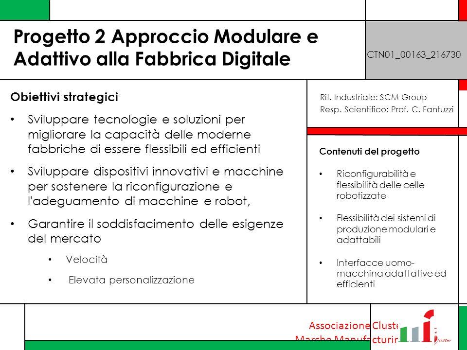 Progetto 2 Approccio Modulare e Adattivo alla Fabbrica Digitale