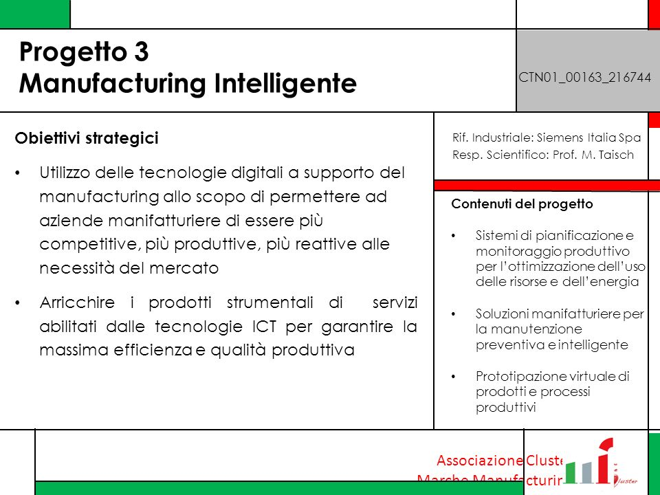 Progetto 3 Manufacturing Intelligente