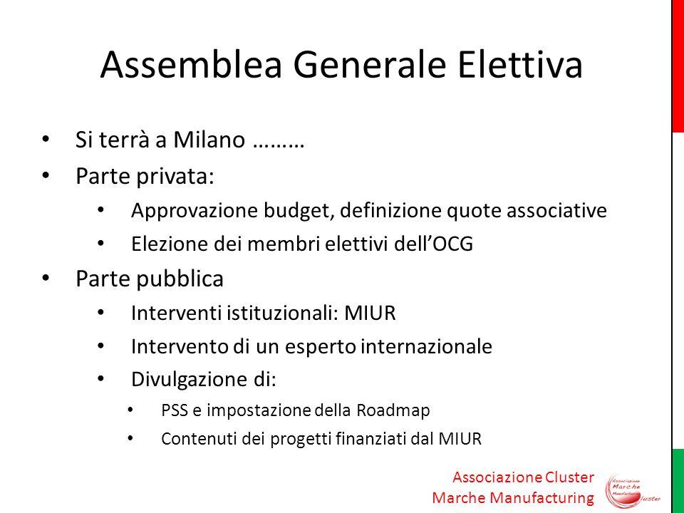 Assemblea Generale Elettiva