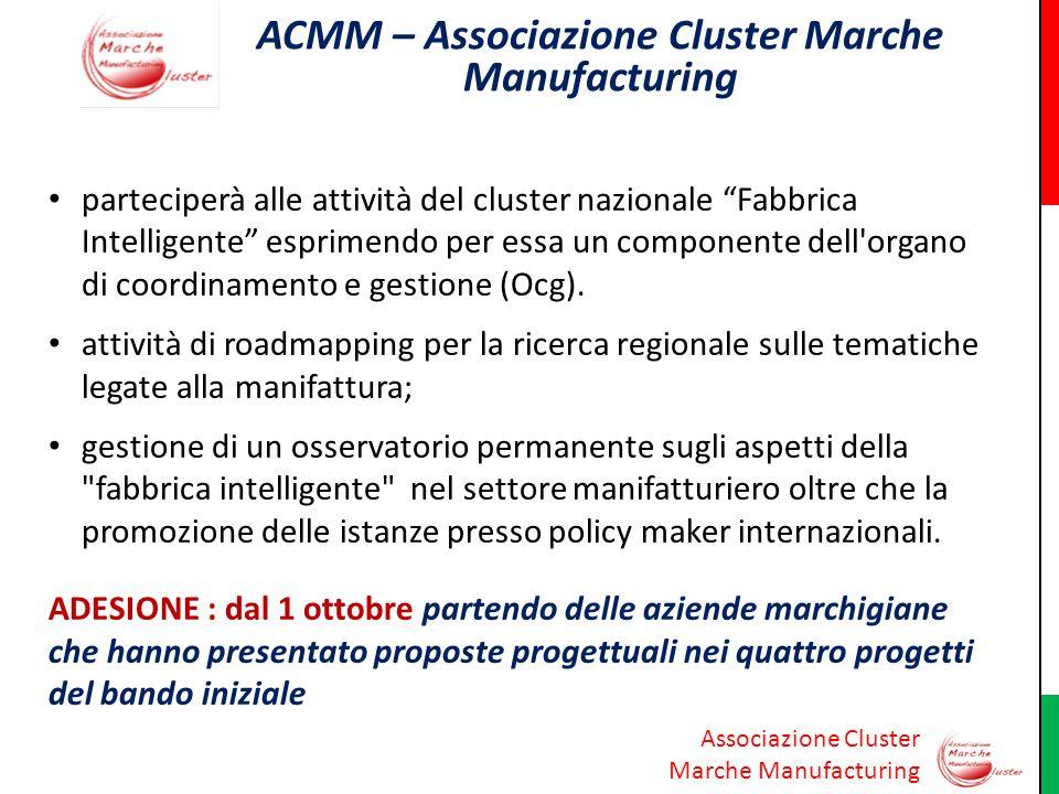 ACMM – Associazione Cluster Marche Manufacturing
