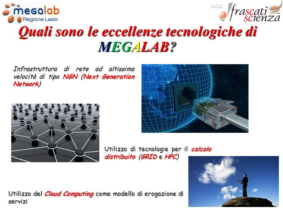 Quali sono le eccellenze tecnologiche di MEGALAB