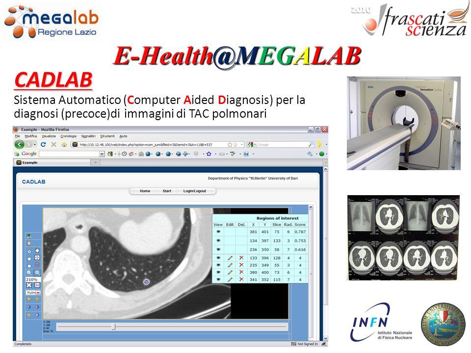 E-Health@MEGALAB CADLAB