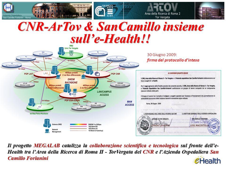 CNR-ArTov & SanCamillo insieme sull'e-Health!!