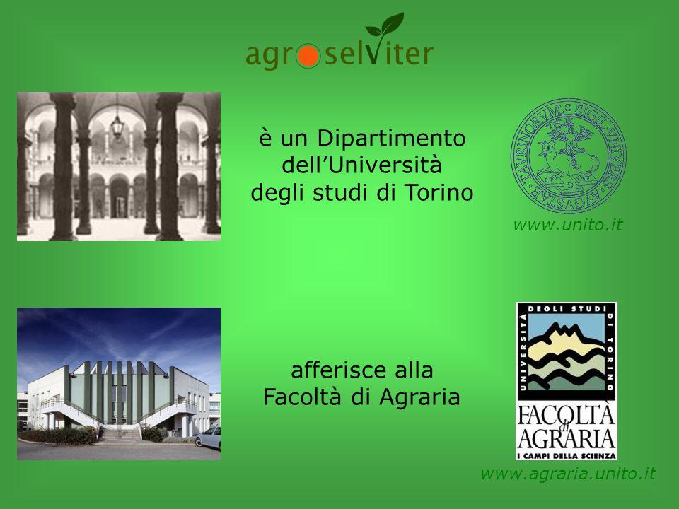 è un Dipartimento dell'Università degli studi di Torino