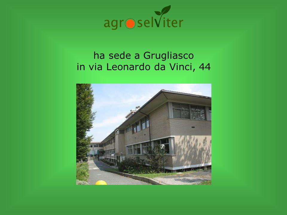ha sede a Grugliasco in via Leonardo da Vinci, 44