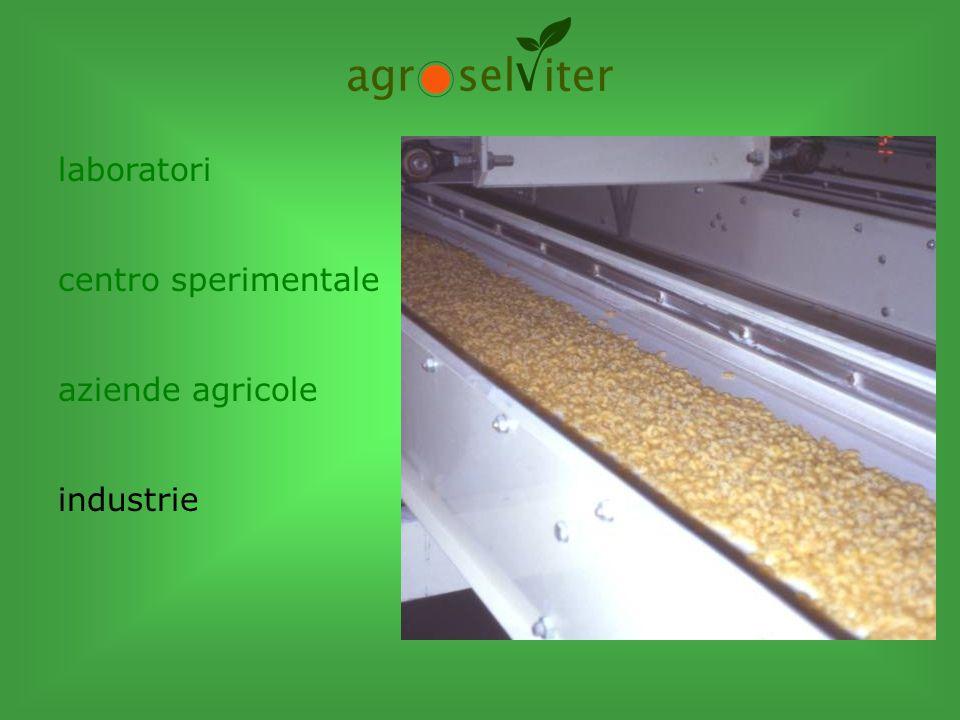 laboratori centro sperimentale aziende agricole industrie