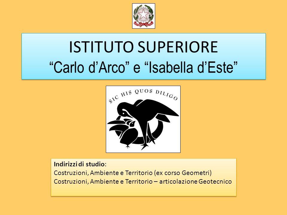 ISTITUTO SUPERIORE Carlo d'Arco e Isabella d'Este