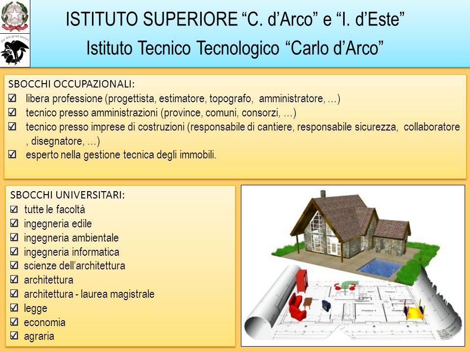 ISTITUTO SUPERIORE C. d'Arco e I