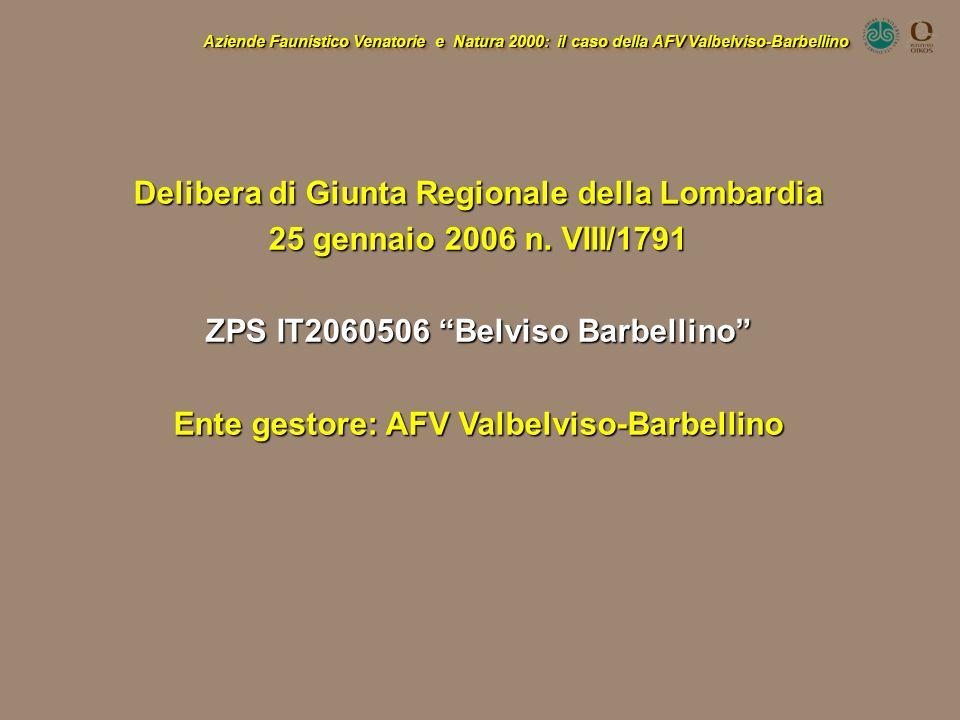 Delibera di Giunta Regionale della Lombardia