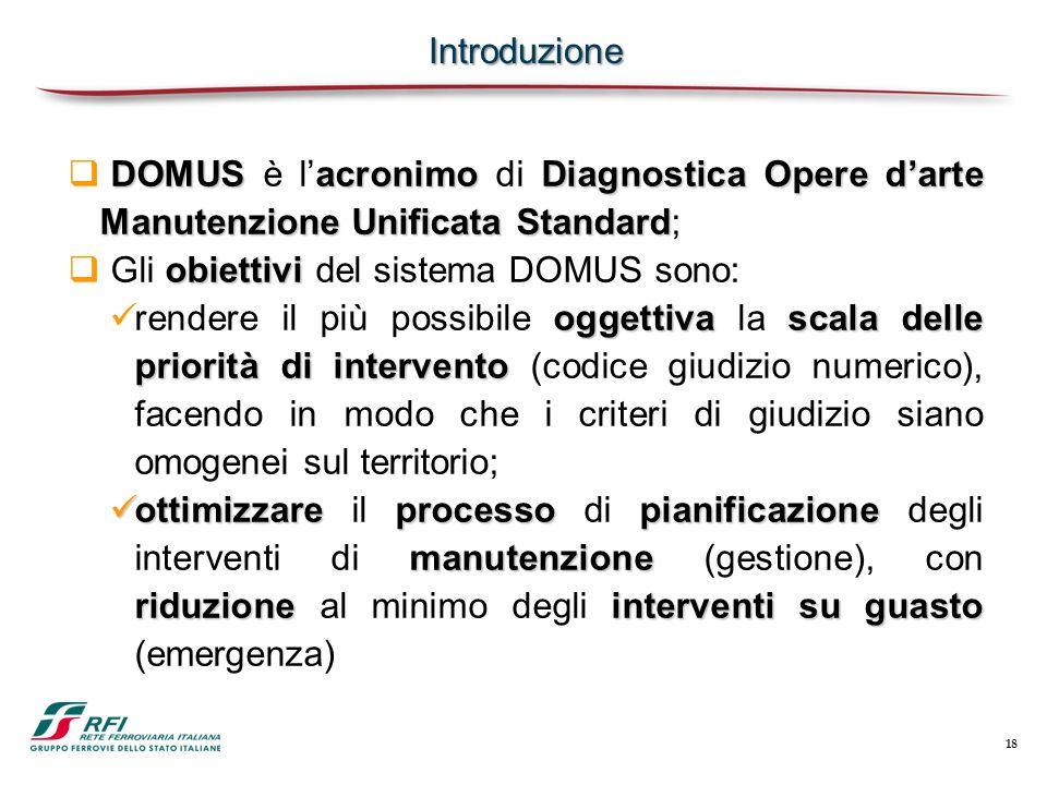 Gli obiettivi del sistema DOMUS sono: