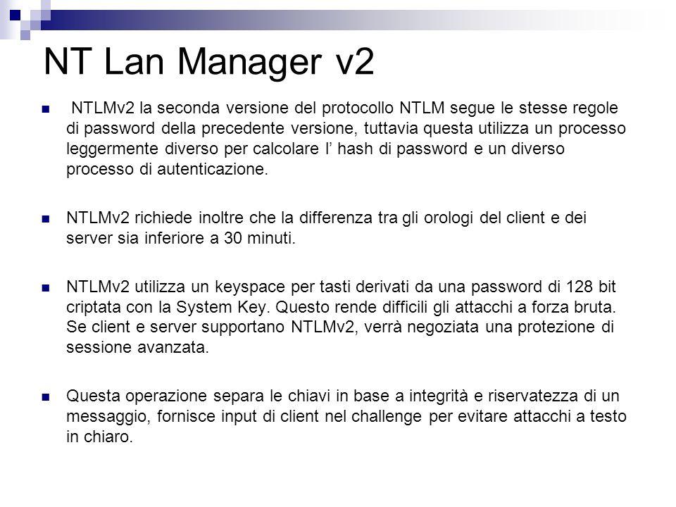 NT Lan Manager v2