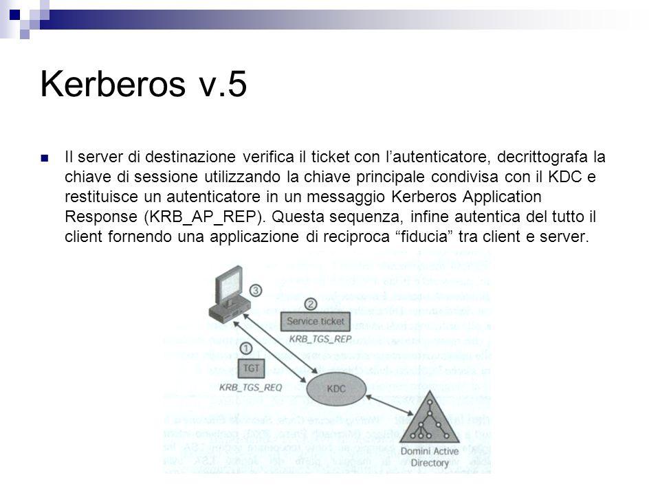 Kerberos v.5