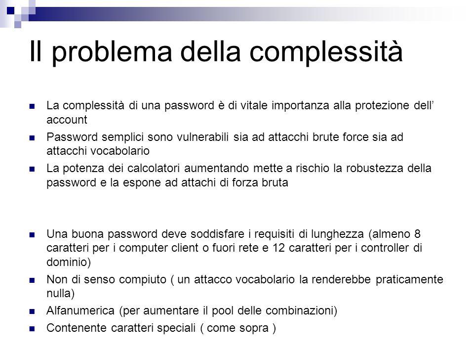 Il problema della complessità