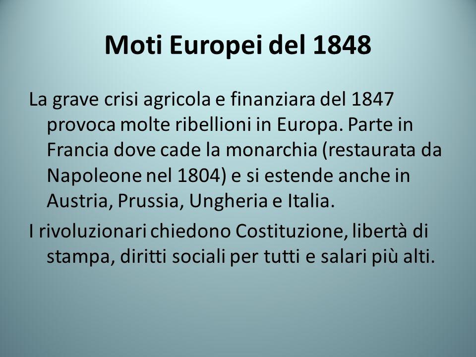 Moti Europei del 1848