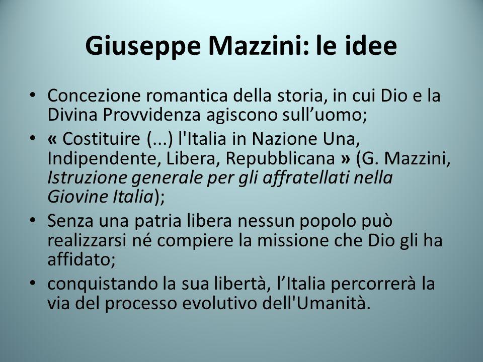 Giuseppe Mazzini: le idee