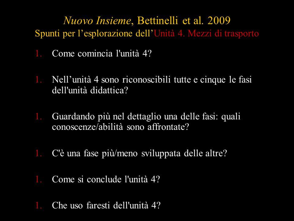 Nuovo Insieme, Bettinelli et al